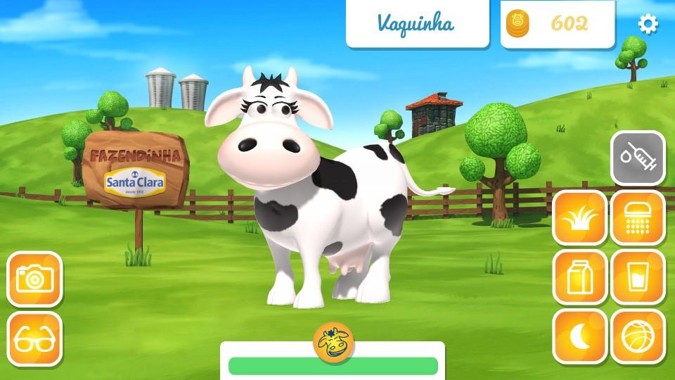 A Fazendinha Santa Clara agora é aplicativo
