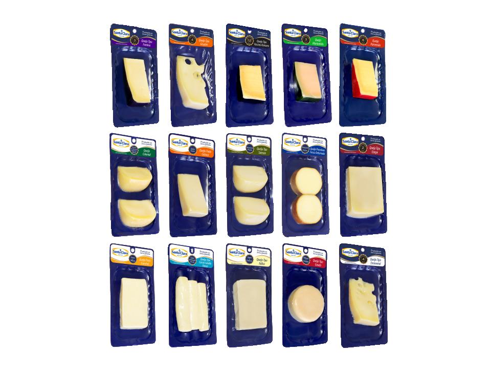Queijos Santa Clara contam com embalagens Skin Pack | Blog Santa Clara