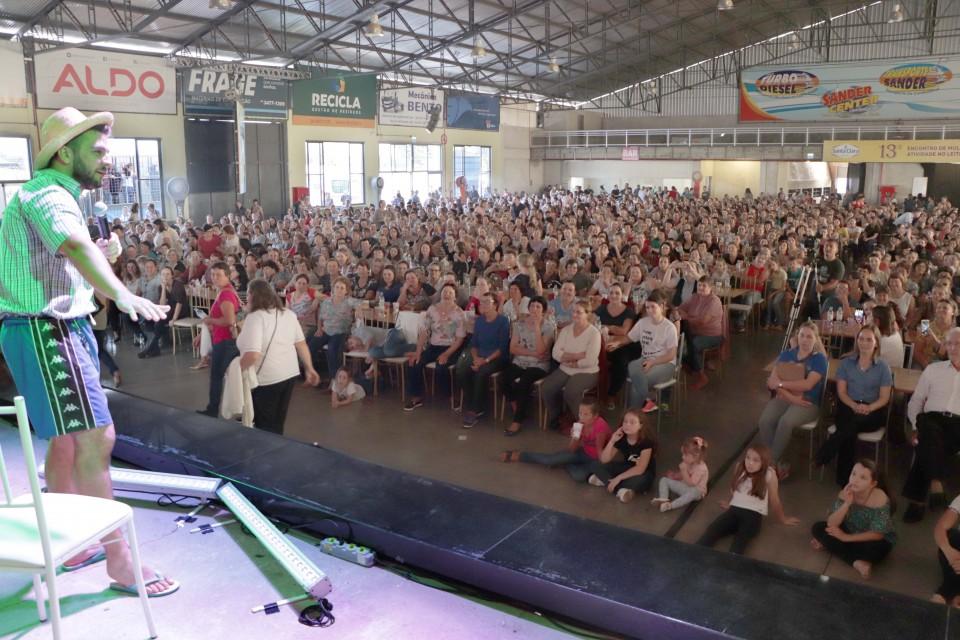 1.700 associadas participam do 13º Encontro de Mulheres com Atividade do Leite Santa Clara   Blog Santa Clara