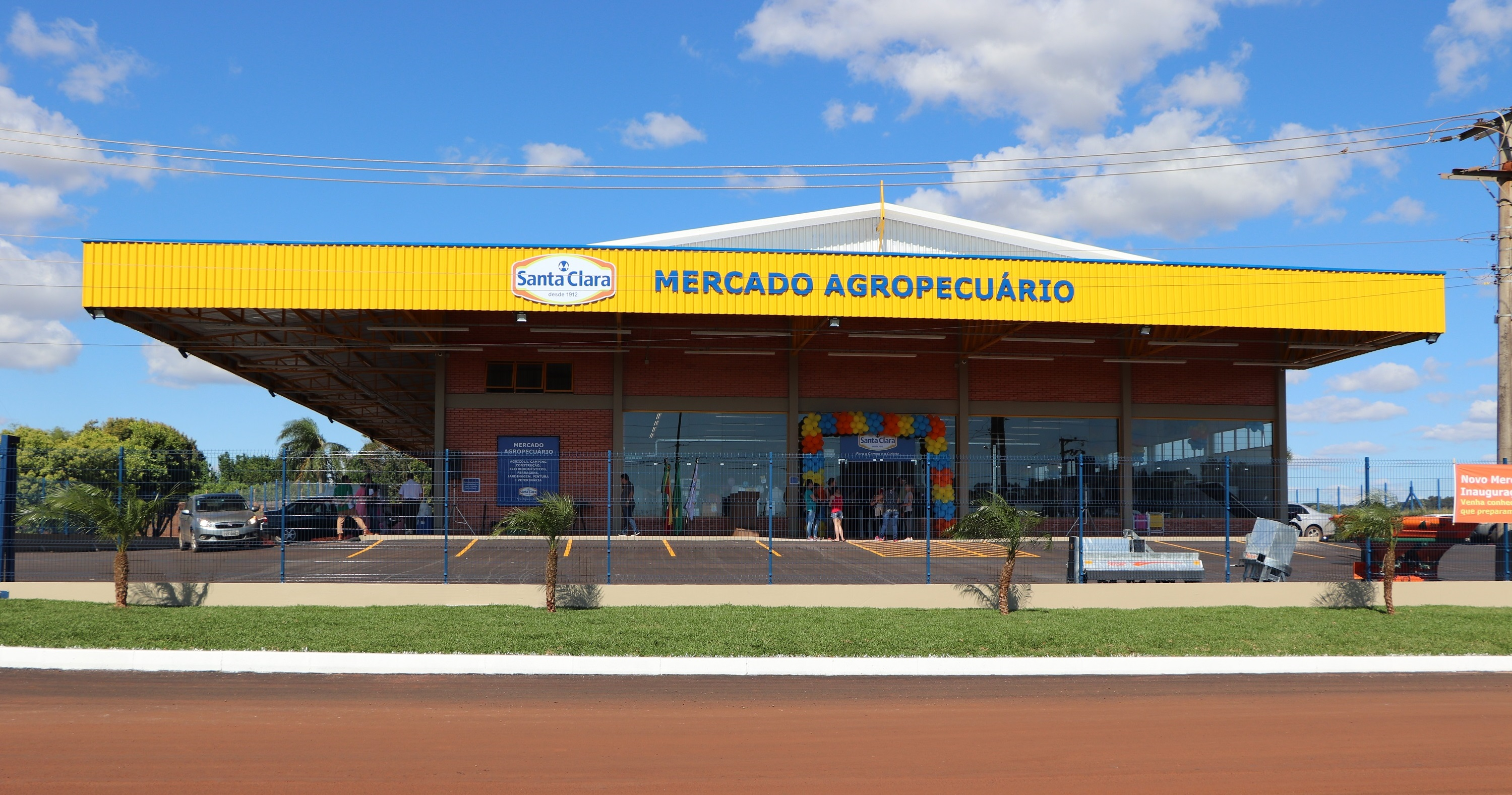 14º Mercado Agropecuário Santa Clara é inaugurado