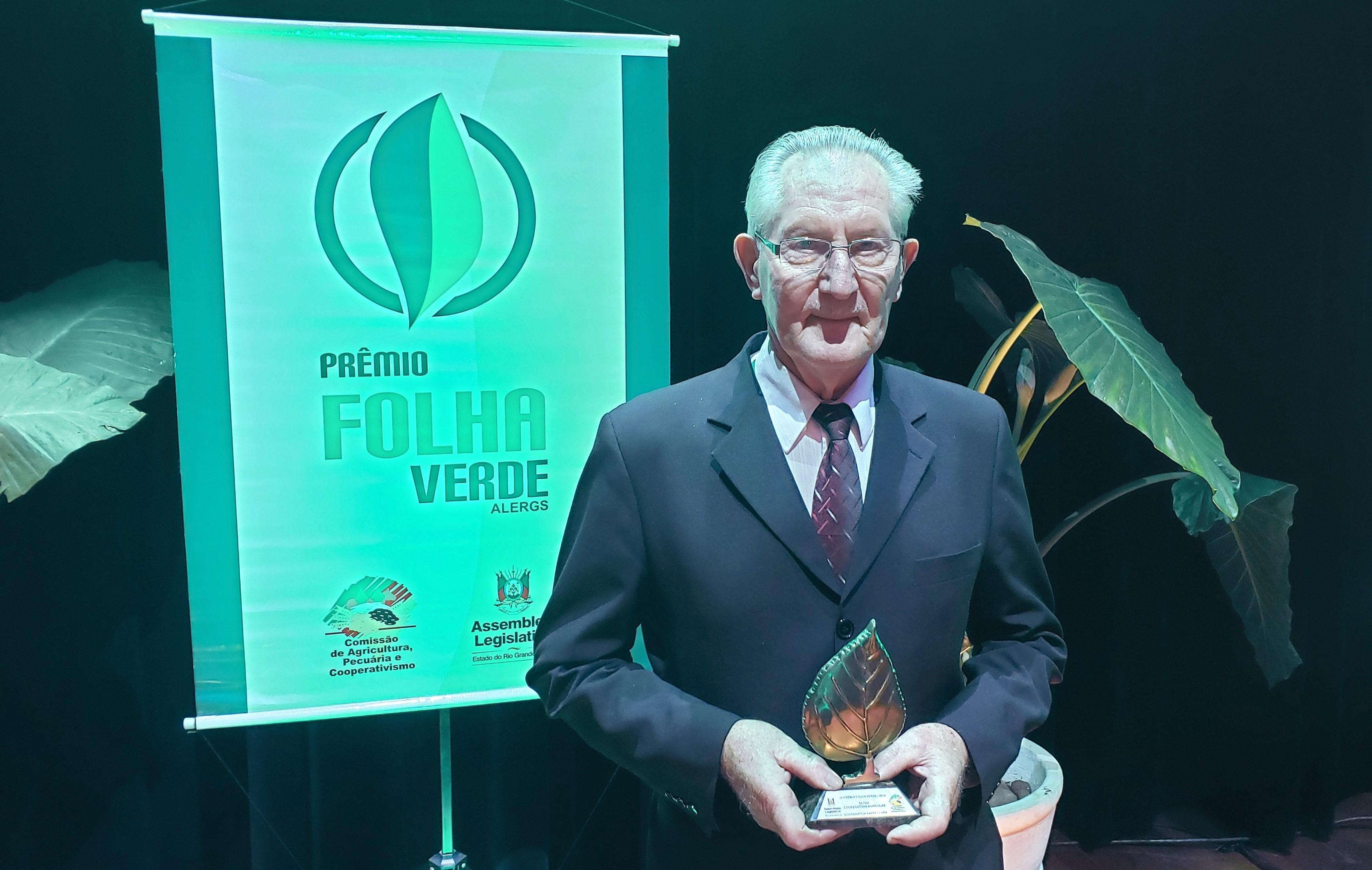 Santa Clara recebe o Prêmio Folha Verde da Assembleia Legislativa