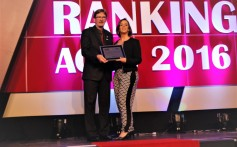 Santa Clara recebe prêmio de Melhor Anunciante no Ranking Agas