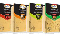 Santa Clara lança linha de queijos temperados no mercado