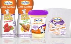 Ricota Santa Clara Zero Lactose chega ao mercado