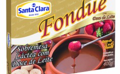Santa Clara lança bebida láctea Mamão e Fondue Doce de Leite