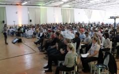 Encontro de Jovens da Santa Clara reúne 300 participantes em Paraí