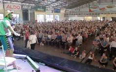 1.700 associadas participam do 13º Encontro de Mulheres com Atividade do Leite Santa Clara