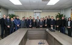 Governador Eduardo Leite visita a Cooperativa Santa Clara