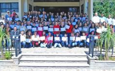 Santa Clara forma 133 associados e dependentes em curso de informática