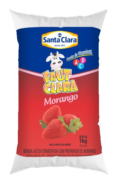 Frut Clara sabor Morango