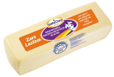 Queijo Mussarela Zero Lactose (Forma)