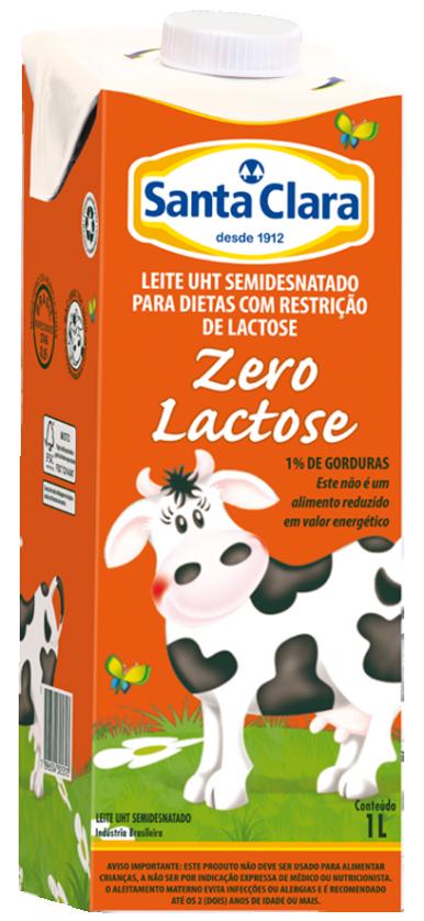Leite Longa Vida Semidesnatado Zero Lactose