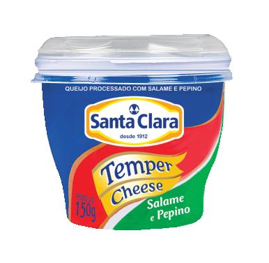 Temper Cheese Salame e pepino
