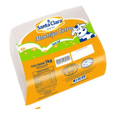 Manteiga Extra sem sal (5kg)