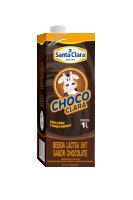 Choco Clara UHT (1 litro) Cooperativa Santa Clara