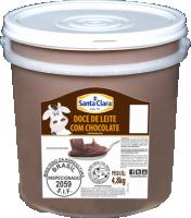 Doce de Leite com Chocolate  Cooperativa Santa Clara