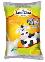 Leite em pó integral (1kg) Cooperativa Santa Clara