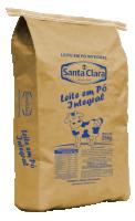 Leite em pó integral (25kg) Cooperativa Santa Clara