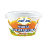 Manteiga de Primeira Qualidade Sem Sal Cooperativa Santa Clara