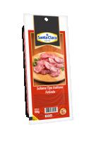 Salame Italiano Fatiado Cooperativa Santa Clara