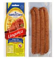 Linguiça Calabresa Fina  Cooperativa Santa Clara