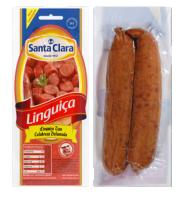 Linguiça Calabresa Grossa Cooperativa Santa Clara