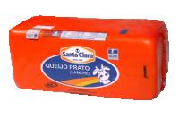 Queijo Prato Lanche (2Kg) Cooperativa Santa Clara