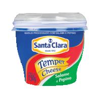 Temper Cheese Salame e pepino Cooperativa Santa Clara