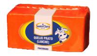 Queijo Prato Fracionado (400g) Cooperativa Santa Clara