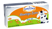 Manteiga Extra sem sal  Cooperativa Santa Clara