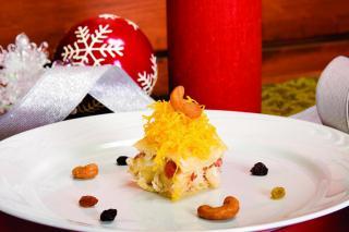Pão Guirlanda de Natal