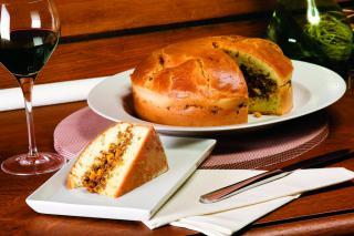Torta Vegetariana à moda Santa Clara