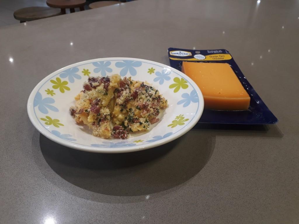 Mac'n'Cheese com Queijo Cheddar Santa Clara