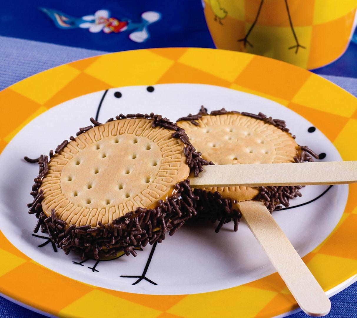 Pirulito de Biscoito Maria