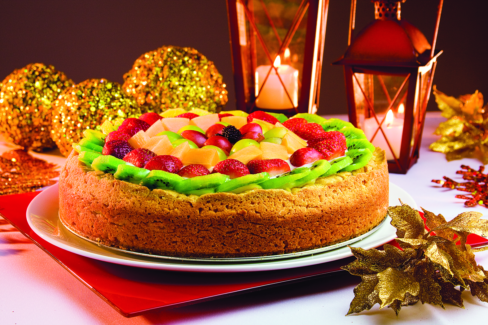 Crostata di frutta (Torta de Fruta)   | Blog Santa Clara